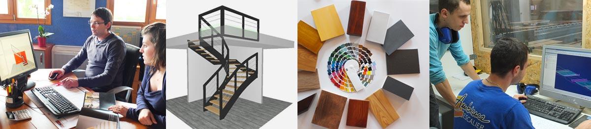 Le bureau d'étude d'Ambiance Escalier