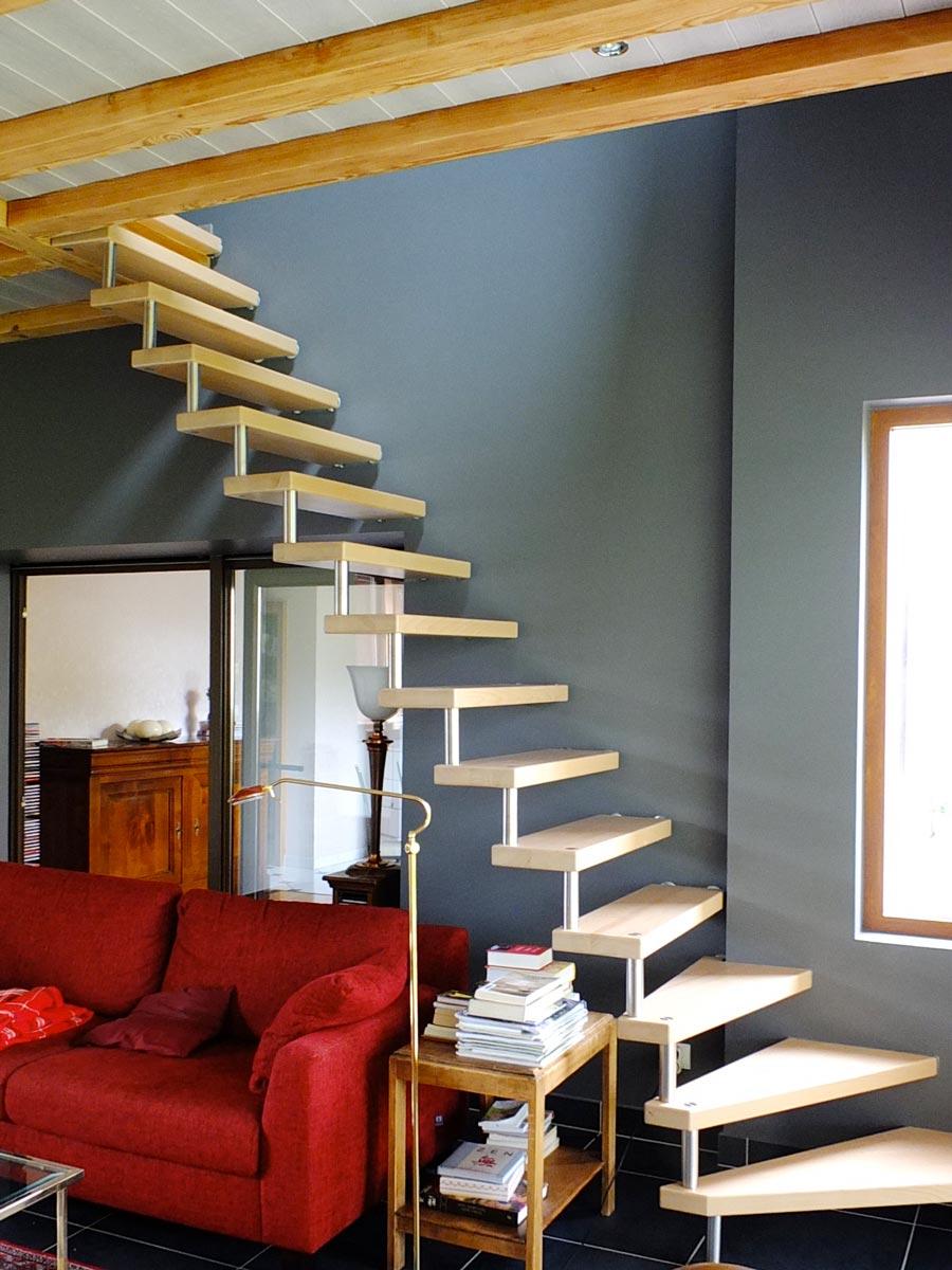 escalier autoportant 3 ambiance escalier. Black Bedroom Furniture Sets. Home Design Ideas