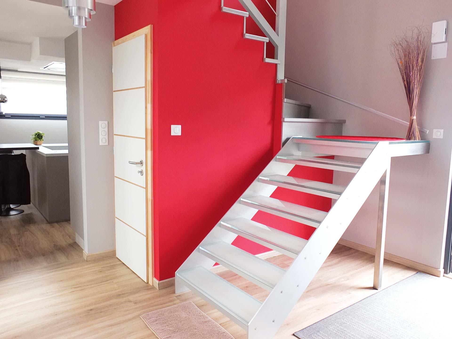 Escalier design Graah installé par Ambiance Escalier