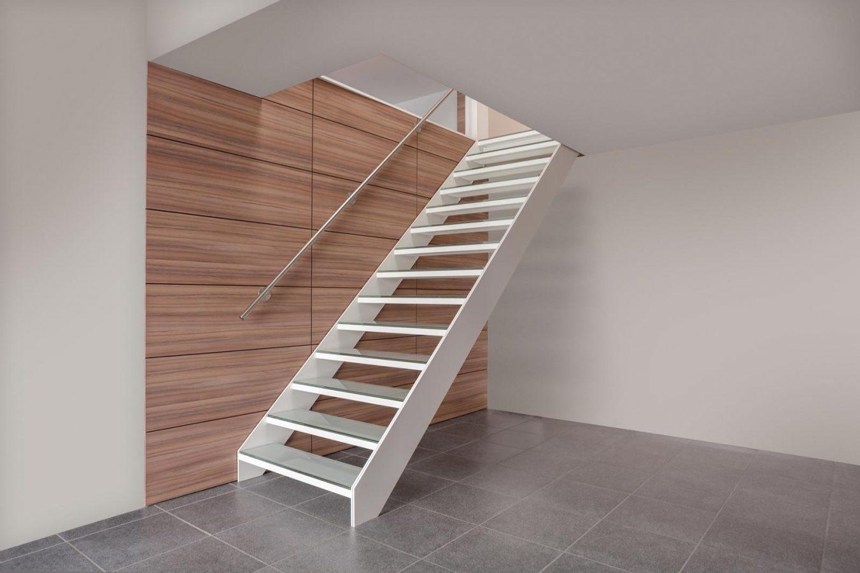 Escalier aluminium design en Alsace