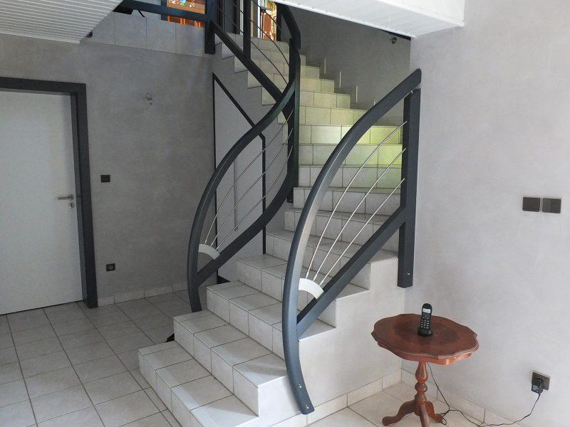 Rembarde Escalier en Alsace